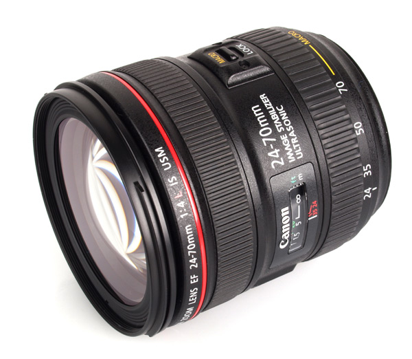 CANON EF 24/70mm f.4 L-IS   nuovo