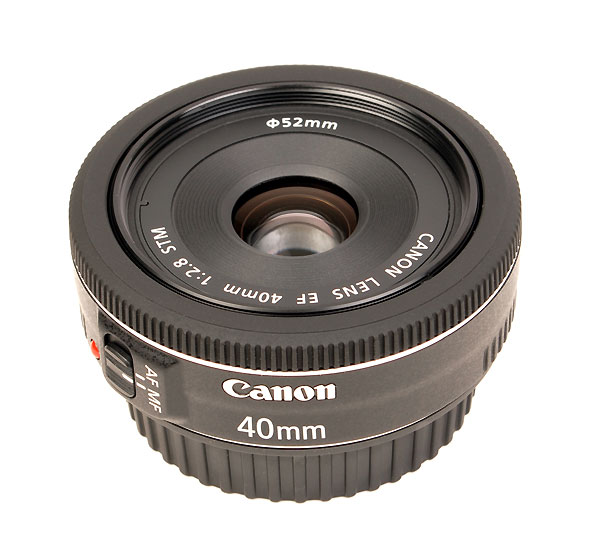 CANON EF 40mm f.2.8 STM    nuovo