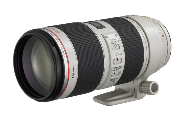 CANON EF 70/200 mm f.4 USM L/IS  nuovo