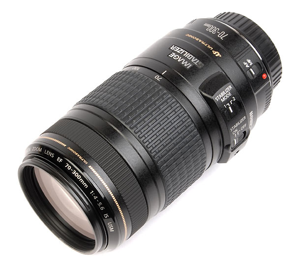 CANON EF 70/300mm f.4/5.6 IS USM  nuovo
